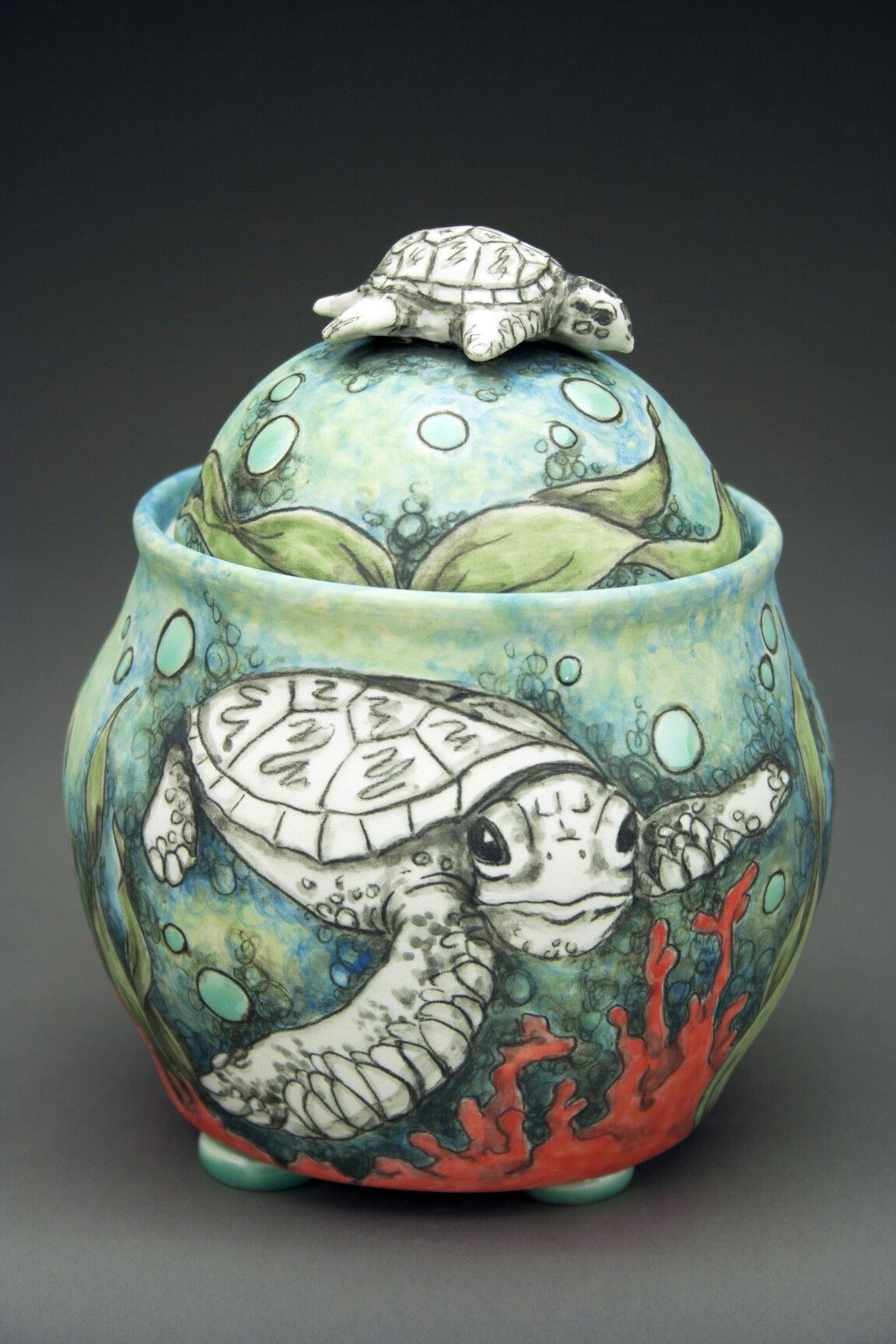 Turtle Jar By Cj Niehaus Solo Show Charliecummingsgallery Com Ceramics Ceramic Techniques Pottery