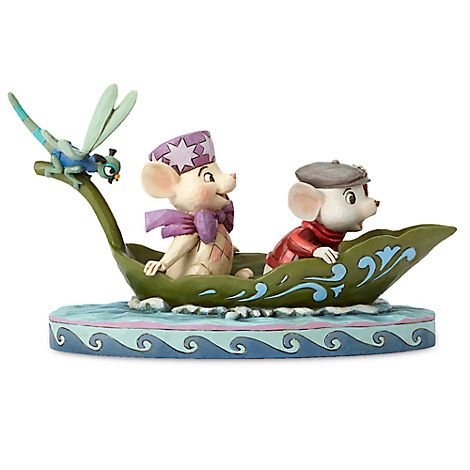 Miss Bianca and Bernard Figure by Jim Shore - The Rescuers - 40th Anniversary