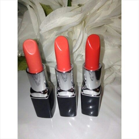 THE LIP COLLECTION  Colours Shown: HIPHOP - left, KATORI - middle, & TOKYO - right Available at www.takiemoto.com
