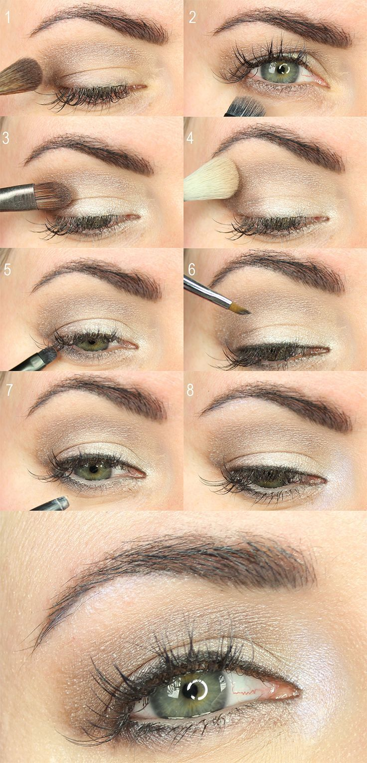 Everyday neutral eyeshadow tutorial with urban decay step by everyday neutral eyeshadow tutorial with urban decay step by step amazing eye makeup pinterest neutral eyeshadow eyeshadow and makeup baditri Images