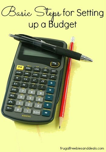 Basic Steps for Setting up a Budget with two at payments gonna have to have a strict budget!