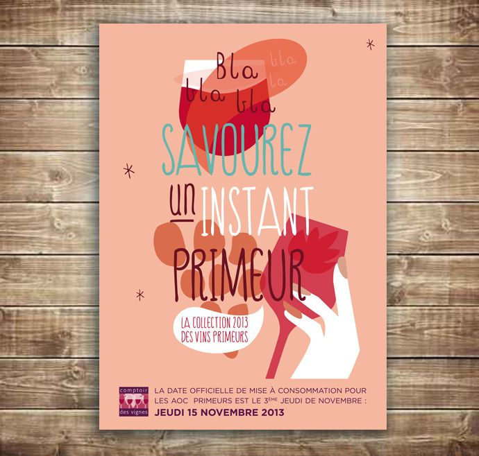 affiche brochure vin primeurs graphiste freelance aix en provence matara design affiches. Black Bedroom Furniture Sets. Home Design Ideas