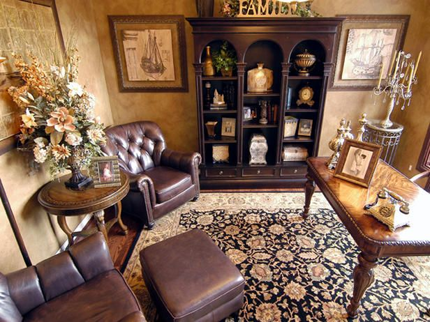 Traditional | Home Offices | Phyllis Harbinger : Designer Portfolio : HGTV - Home & Garden Television