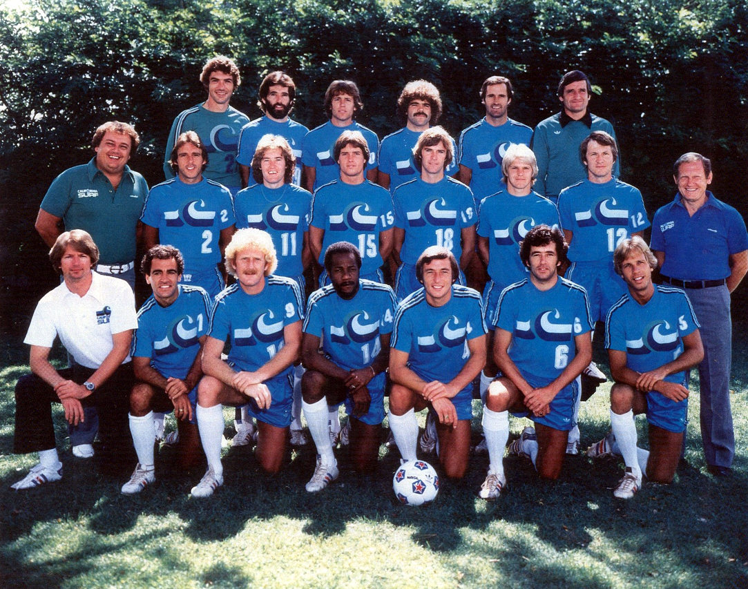 Your California Surf North American Soccer League Vintage Football Professional Soccer