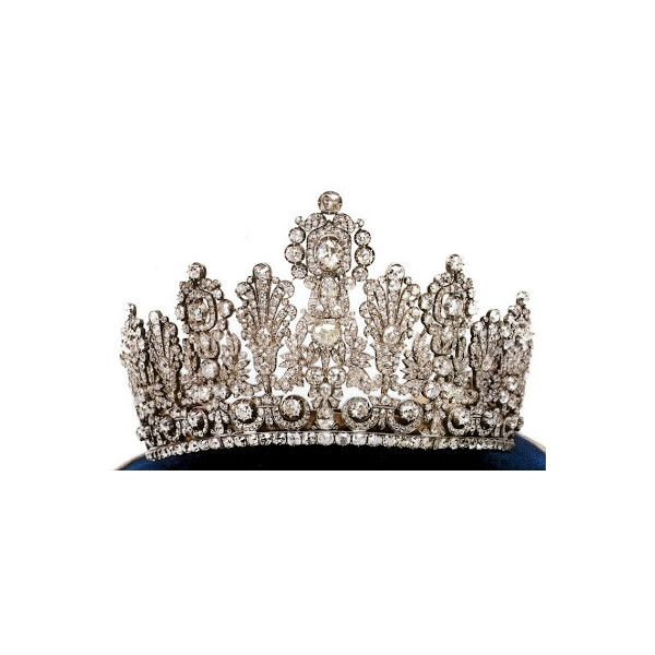 Readers' Top 15 Tiaras #12. The Luxembourg Empire Tiara ❤ liked on Polyvore featuring accessories, tiaras, crowns, jewelry, royal and tiara crown