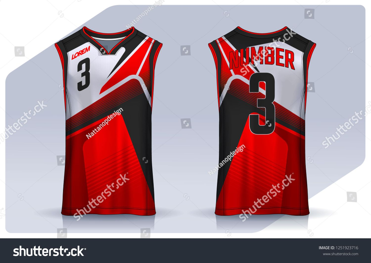 Download Basketball Tank Top Design Template Sport Jersey Mockup Uniform Front And Back View Design Template Top Basketbal Basketball Tank Tops Tank Top Designs Tops