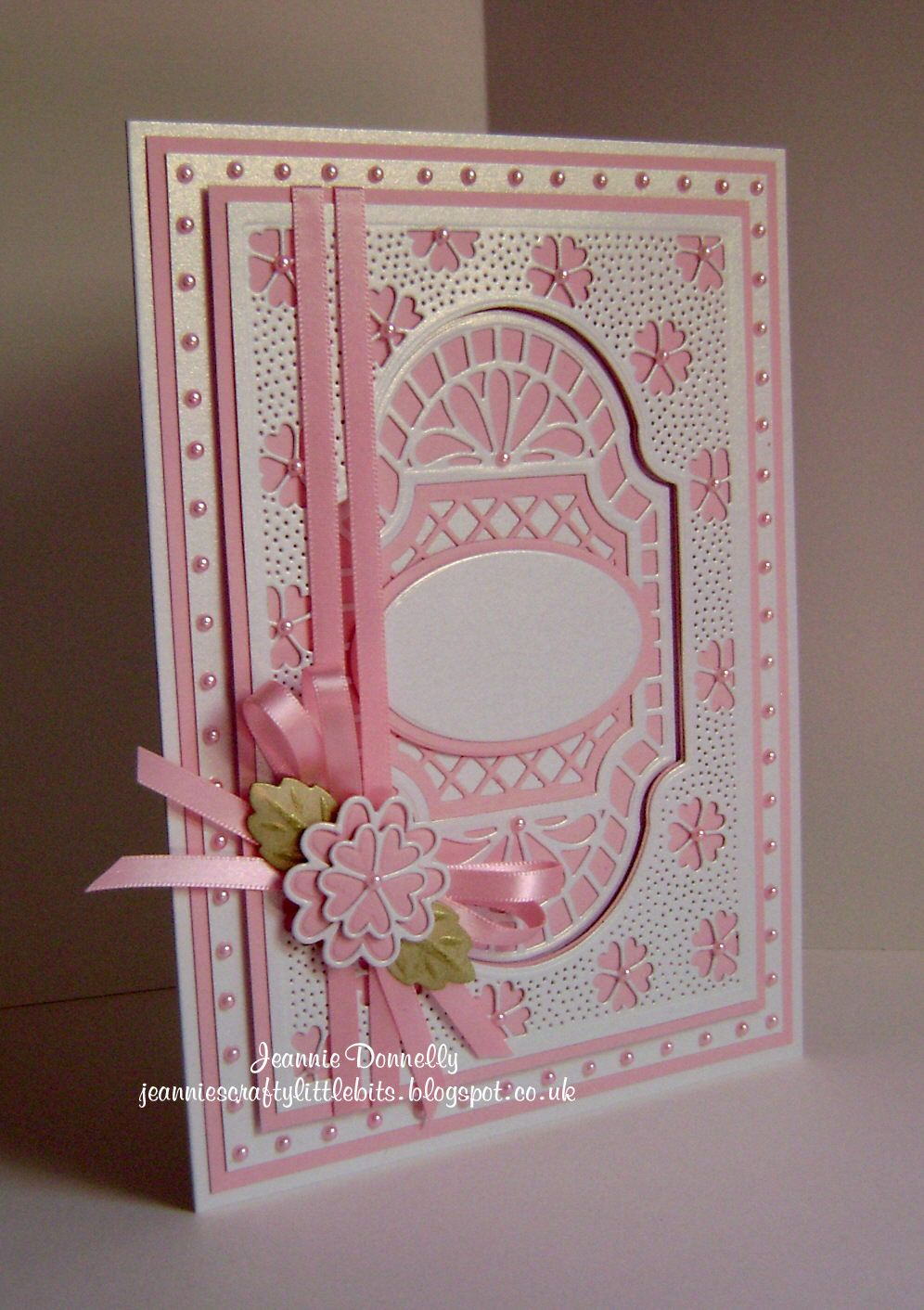 Another Thank You Card Using Creative Expressions Sue Wilson New