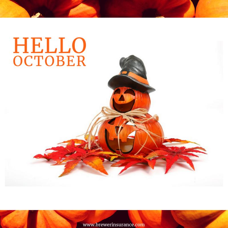 Hello October Cute halloween decorations, Cute