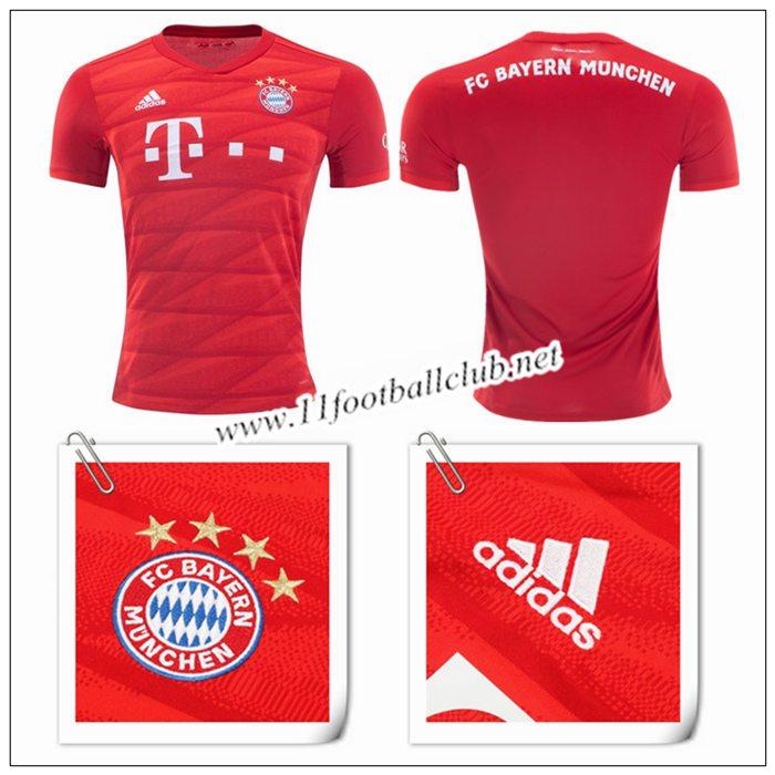 Le Nouveau Maillot du Bayern Munich Domicile Rouge 201920