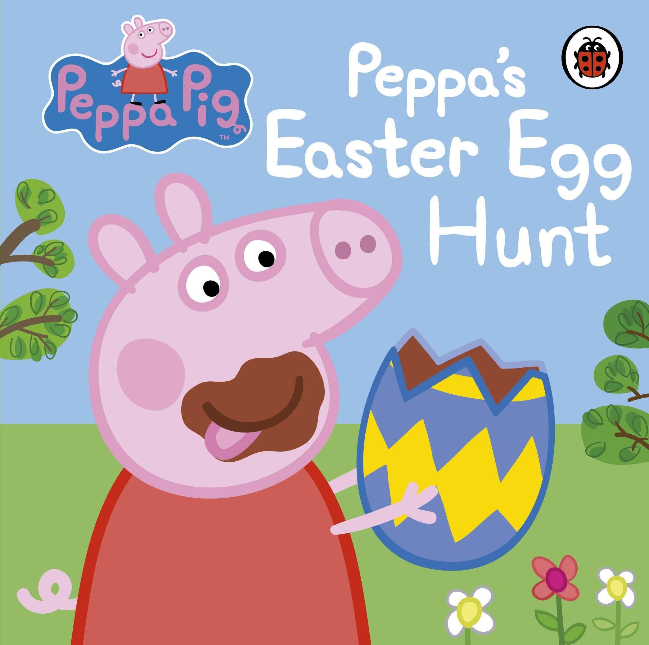 Peppa pig peppaus easter egg hunt board book u mar