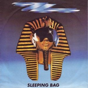 Tutankhamun Inspired Cover Artwork For Sleeping Bag Zz Top From Their 1985 Album Afterburner The Song Was Released As A Single In 1985