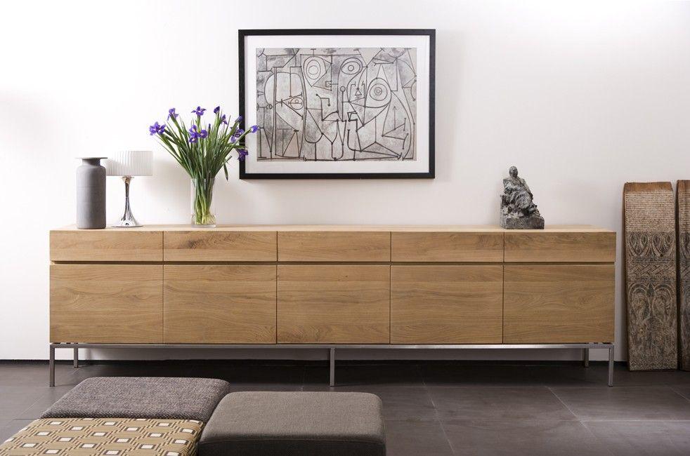 Credenza Da Design : Aparador ligna l roble in interior arredamento mobili