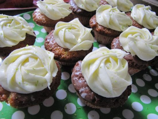 Prinsesseliv: Mojito Cupcakes