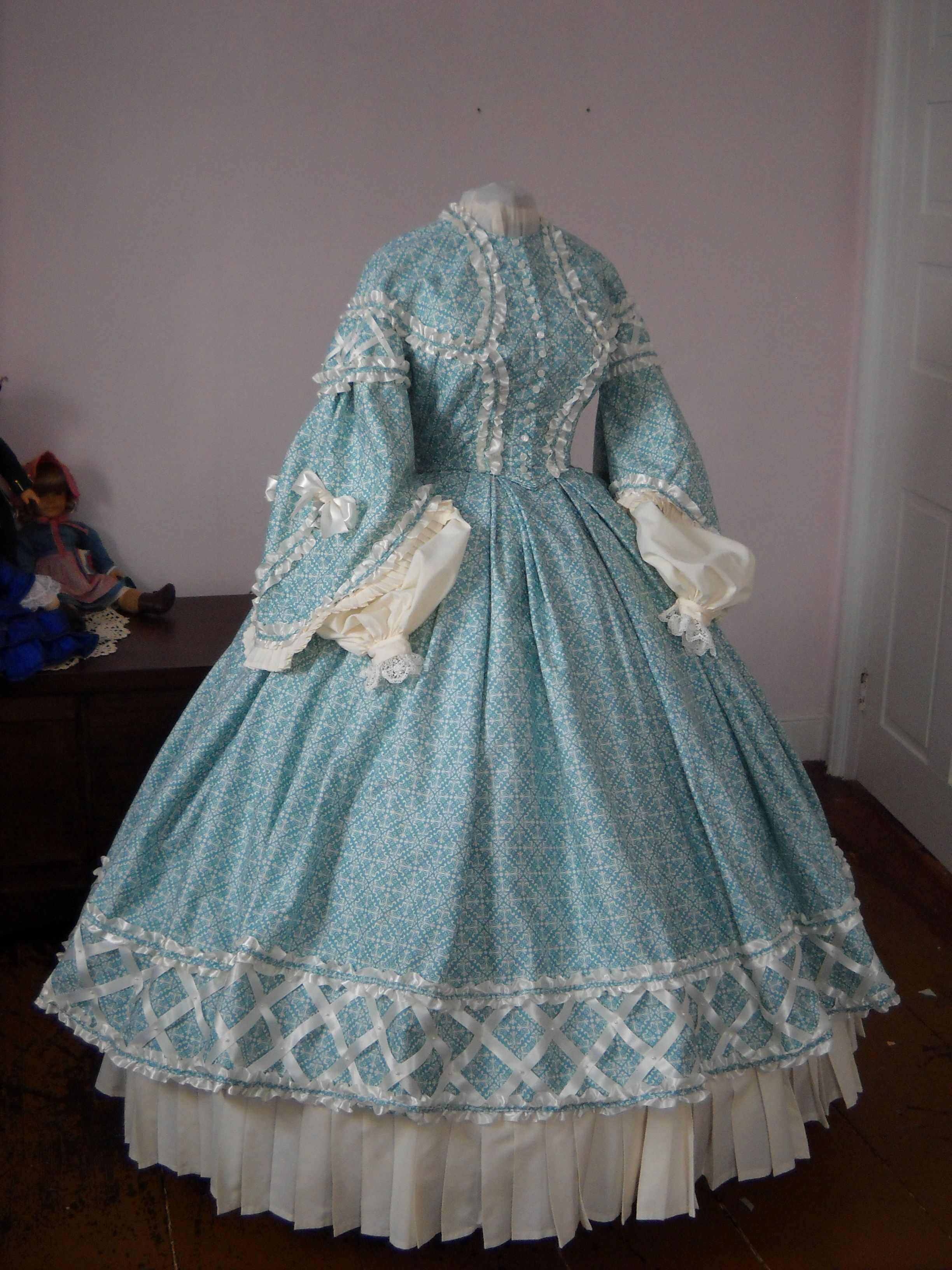 custom authentic Civil War era, Victorian, 1860's, 19th ...