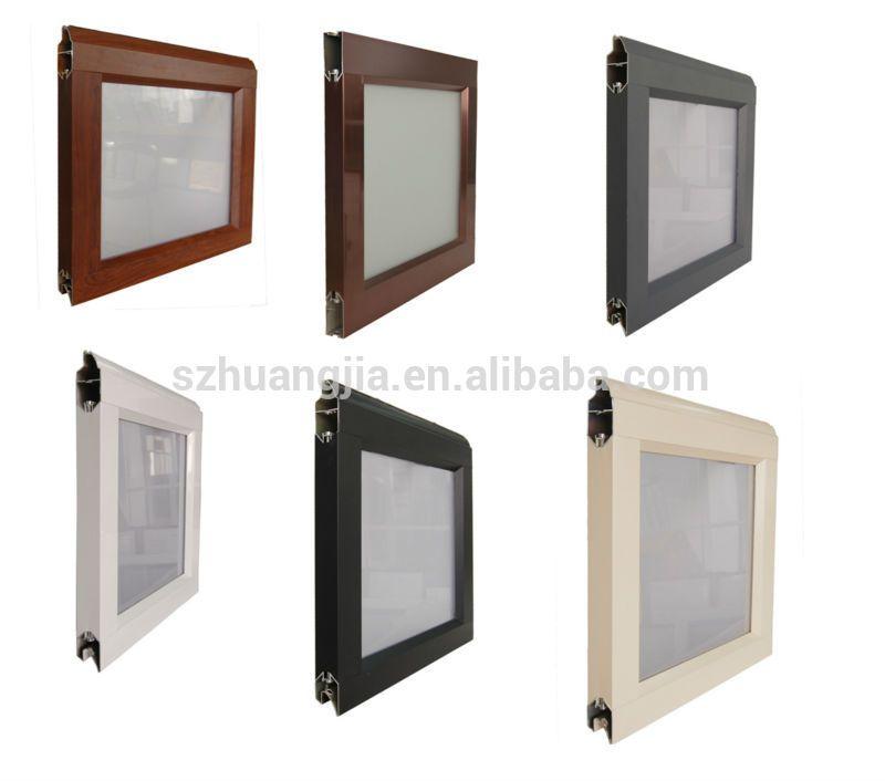 Glass panel aluminum frame waterproof garage doors | Garage doors ...
