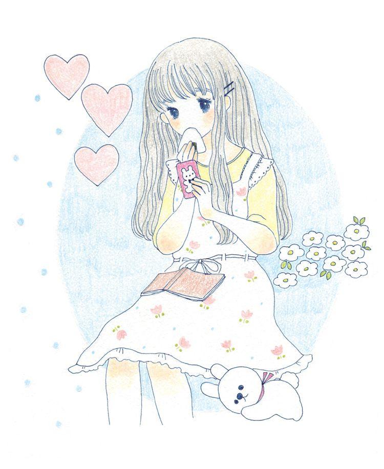 Ranran Usagicyan キュートなスケッチ アニメの描き方 キュートなアート
