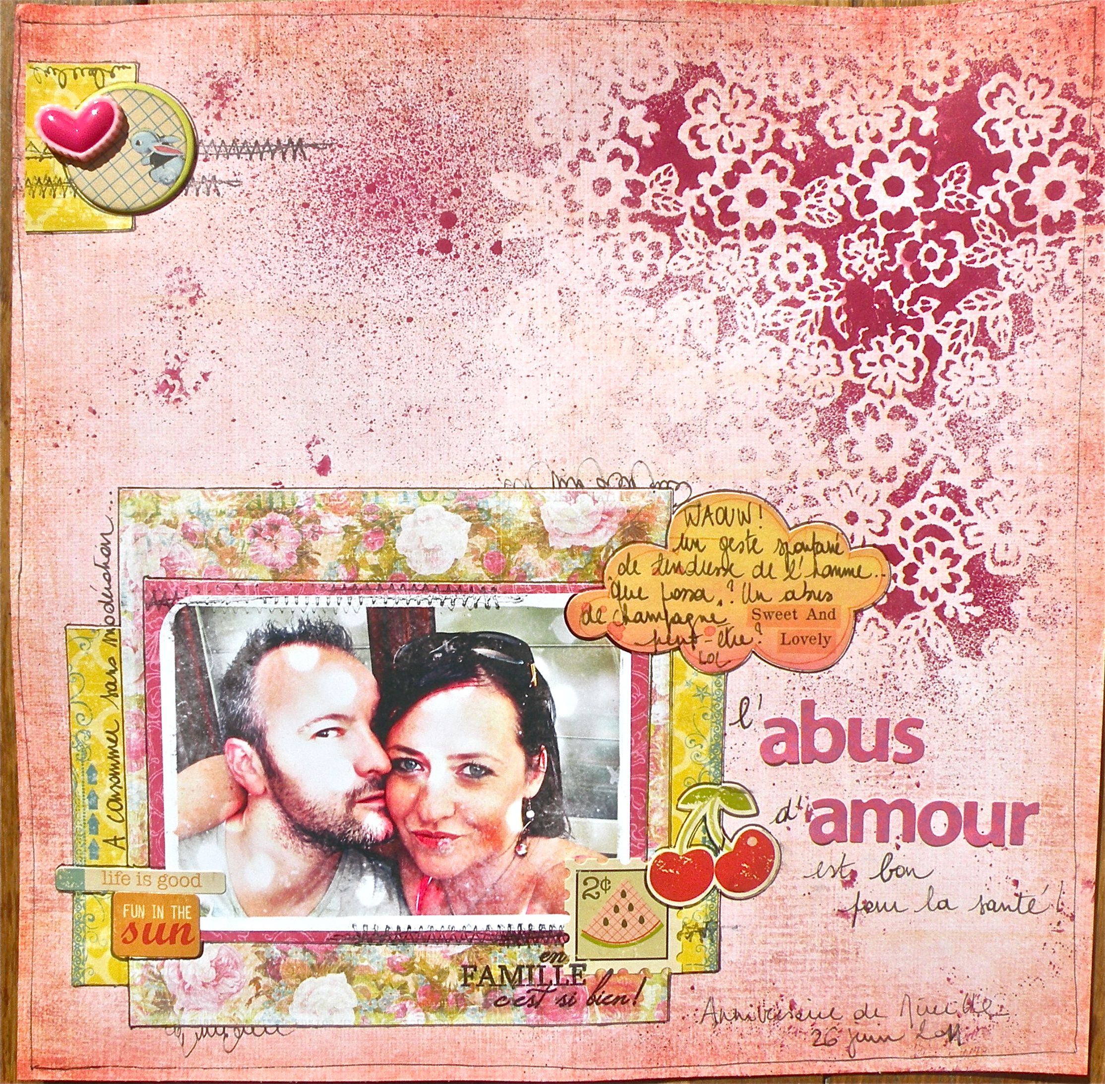 Love this using the crafters workshop templates for a mask. By ...