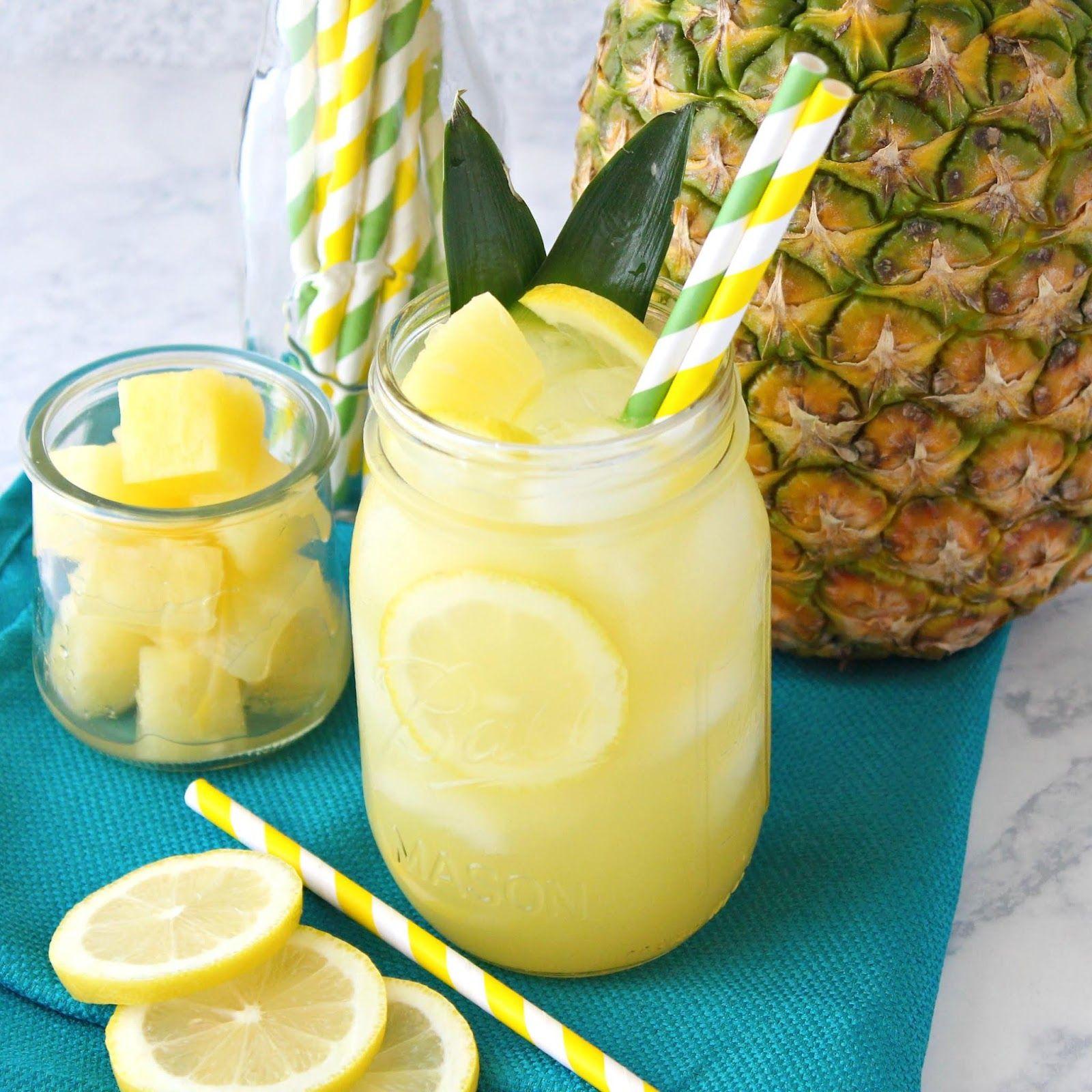 Simple Southern Pineapple Lemonade