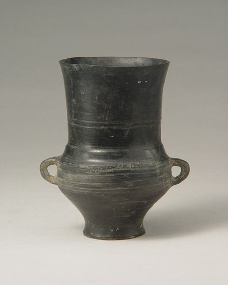 Eggshell Pottery Blackware Longshan Culture China