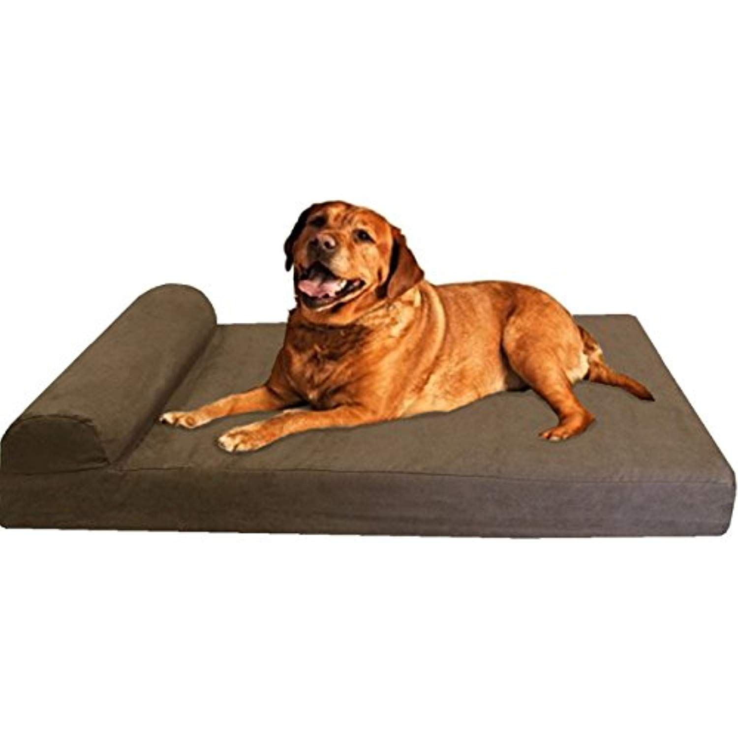 Dogbed4less Extra Large Head Rest Orthopedic Gel Cooling Memory