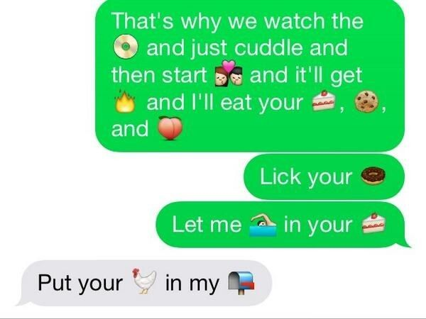 the 16 best emoji sexts to ever happen