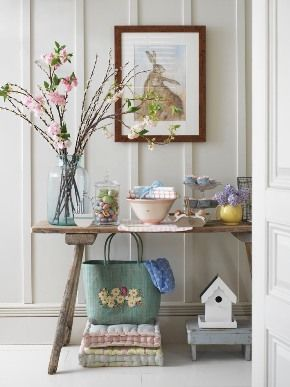 Spring Hall Table