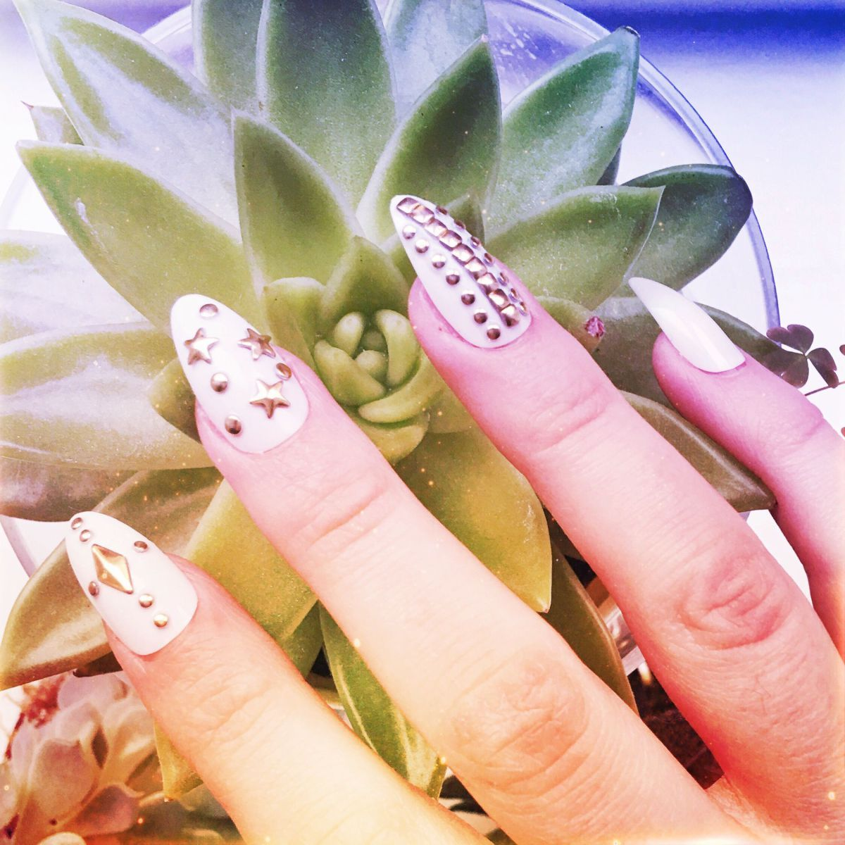 I\'ve only recently starting wearing fake nails, I love wearing nail ...