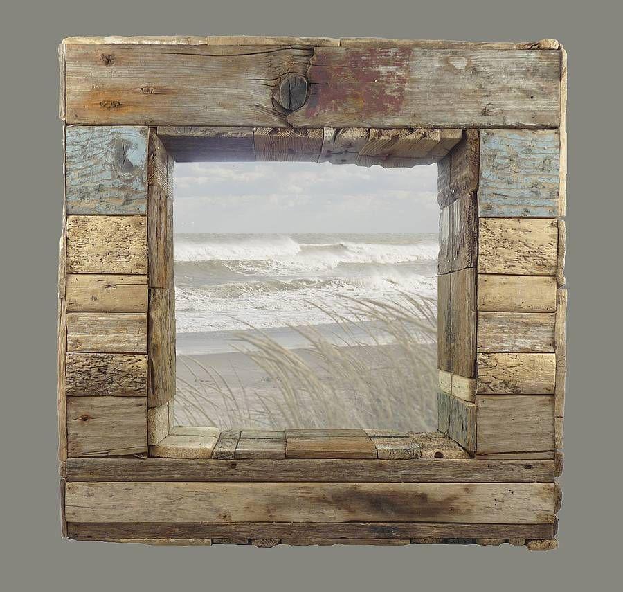Bespoke Patchwork Mirror By Nautilus Driftwood Design