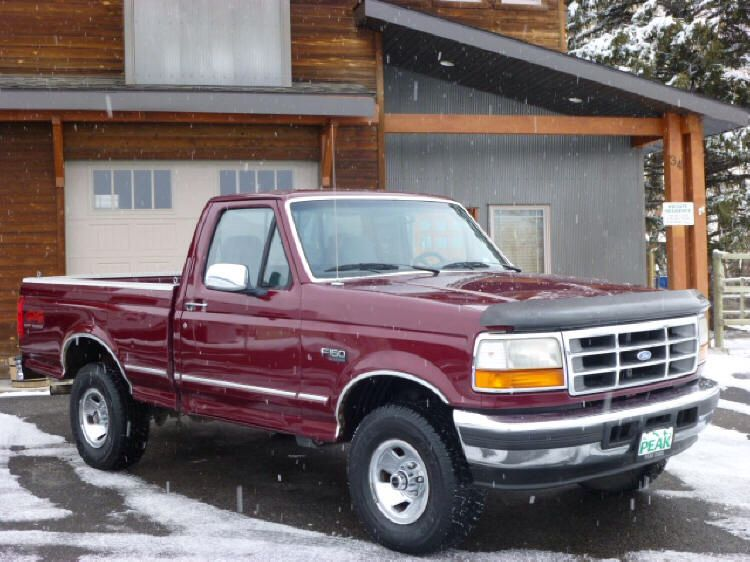 1996 F150 Last Year Of The Square Body 1996 Ford F150 Ford