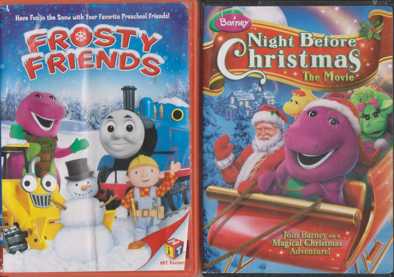 HIT Favorites: Frosty Friends & Barney: Night Before Christmas - The ...