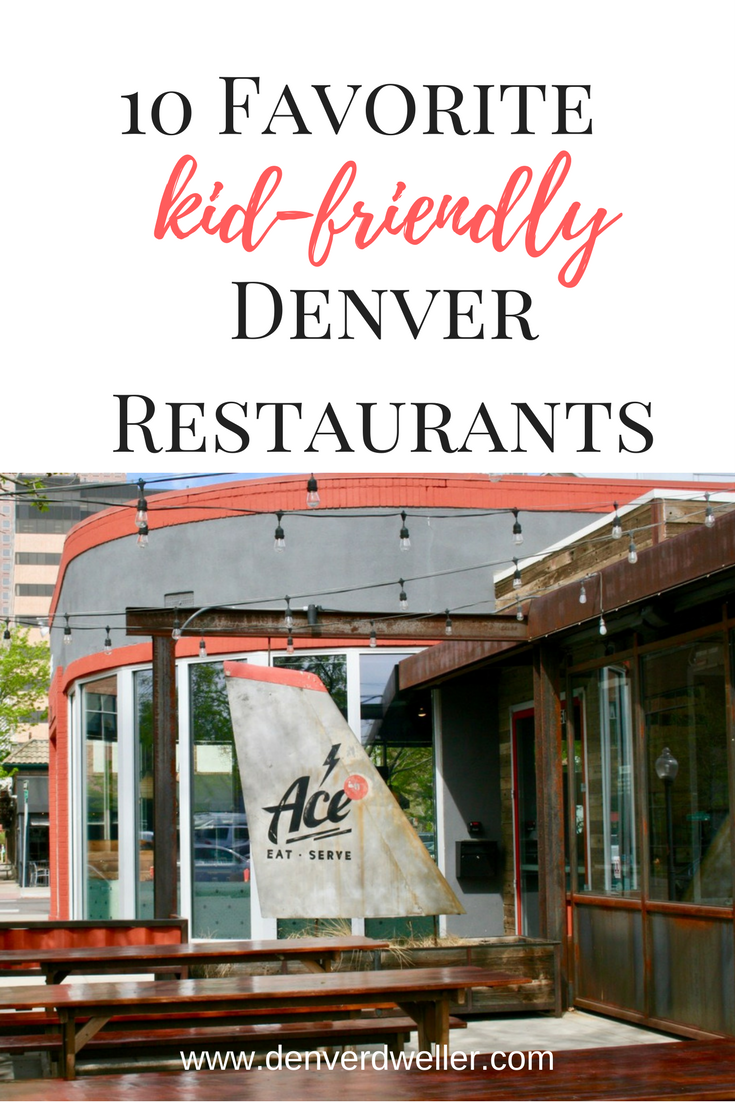 Denver Is A Foo City Don T Give Up On Eating Out Just Because You Have Kids Here Are Our Favorite Restaurants For Hily With