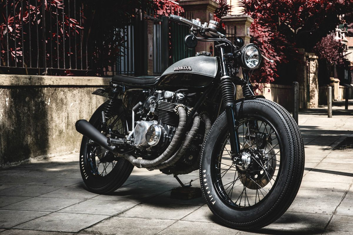 1978 CB550 four by Jerikan Motorcycles