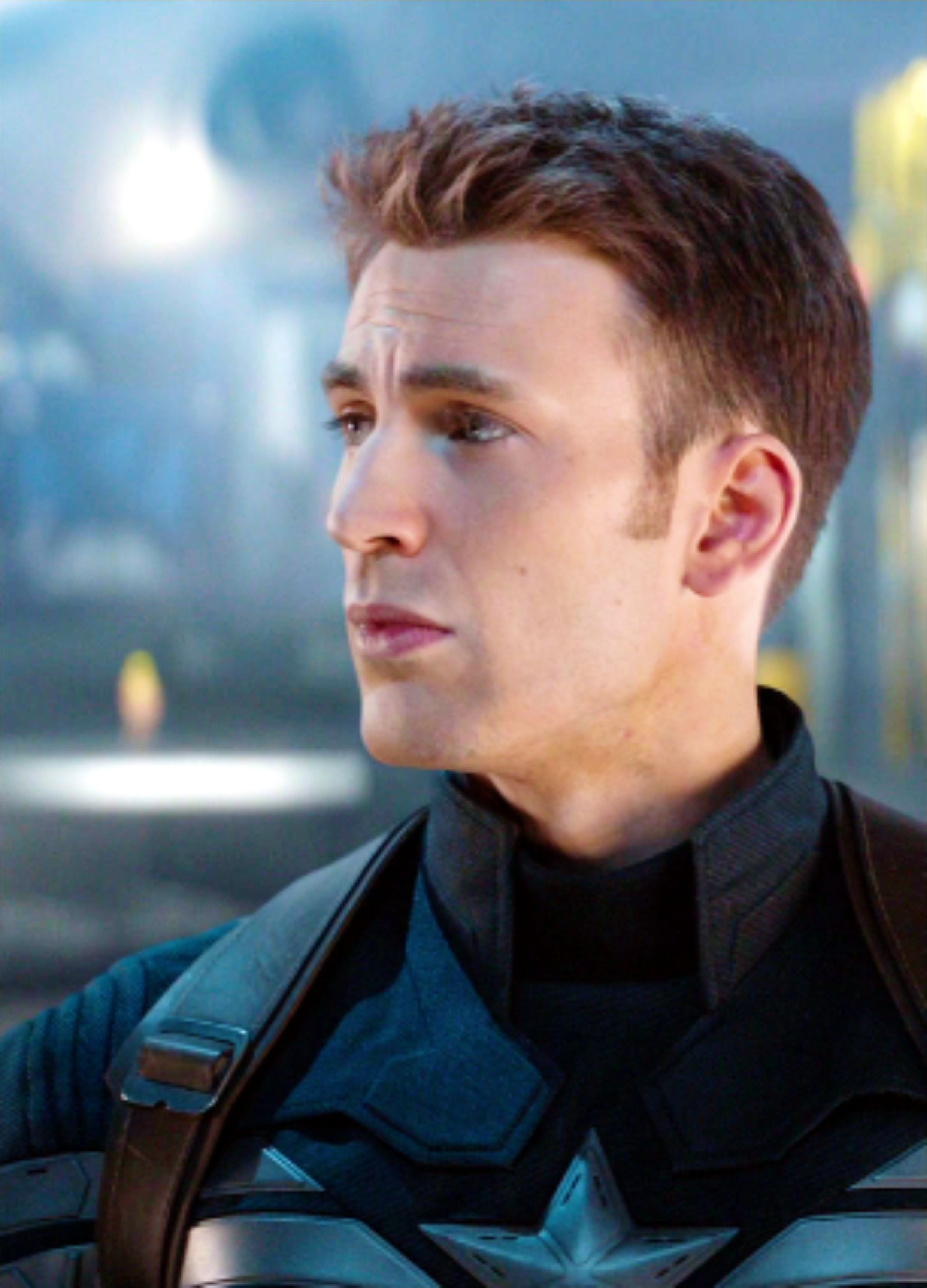 Winter Soldier Hair : winter, soldier, Chris, Evans, Haircut, Winter, Soldier, Hairstyle