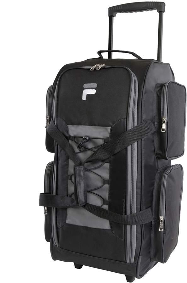 f8a399624334 Fila 26-Inch Lightweight Wheeled Duffel Bag