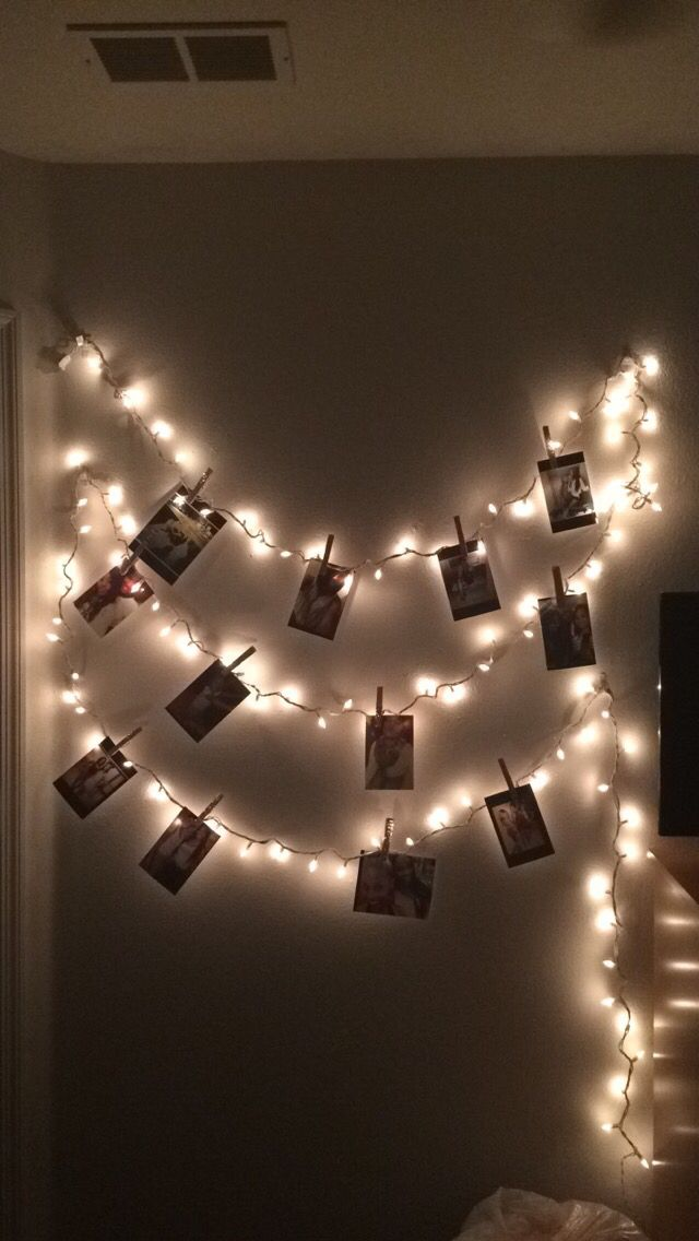 College Apartment Walls Decor Christmas Lights Turned Into A