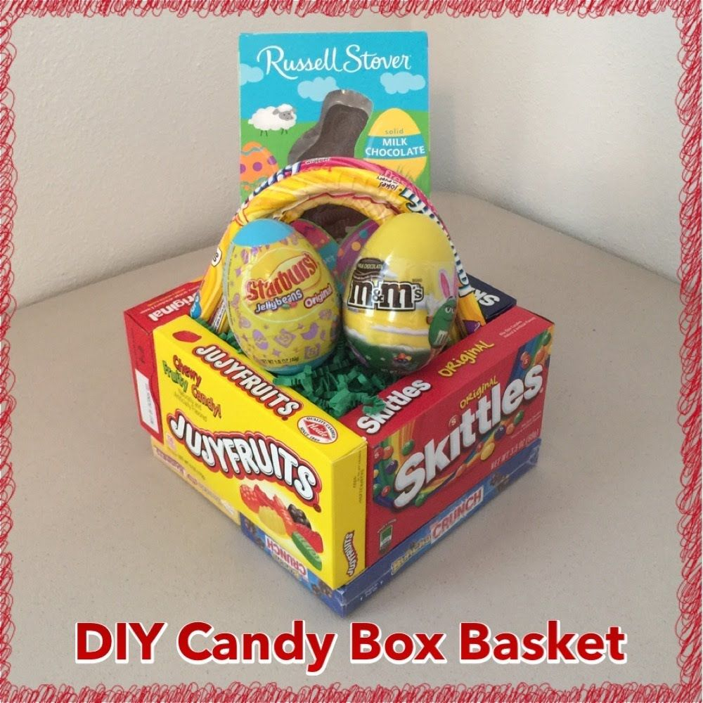 Diy edible candy box easter basket tutorial pinterest inspired diy edible candy box easter basket tutorial pinterest inspired craft negle Choice Image