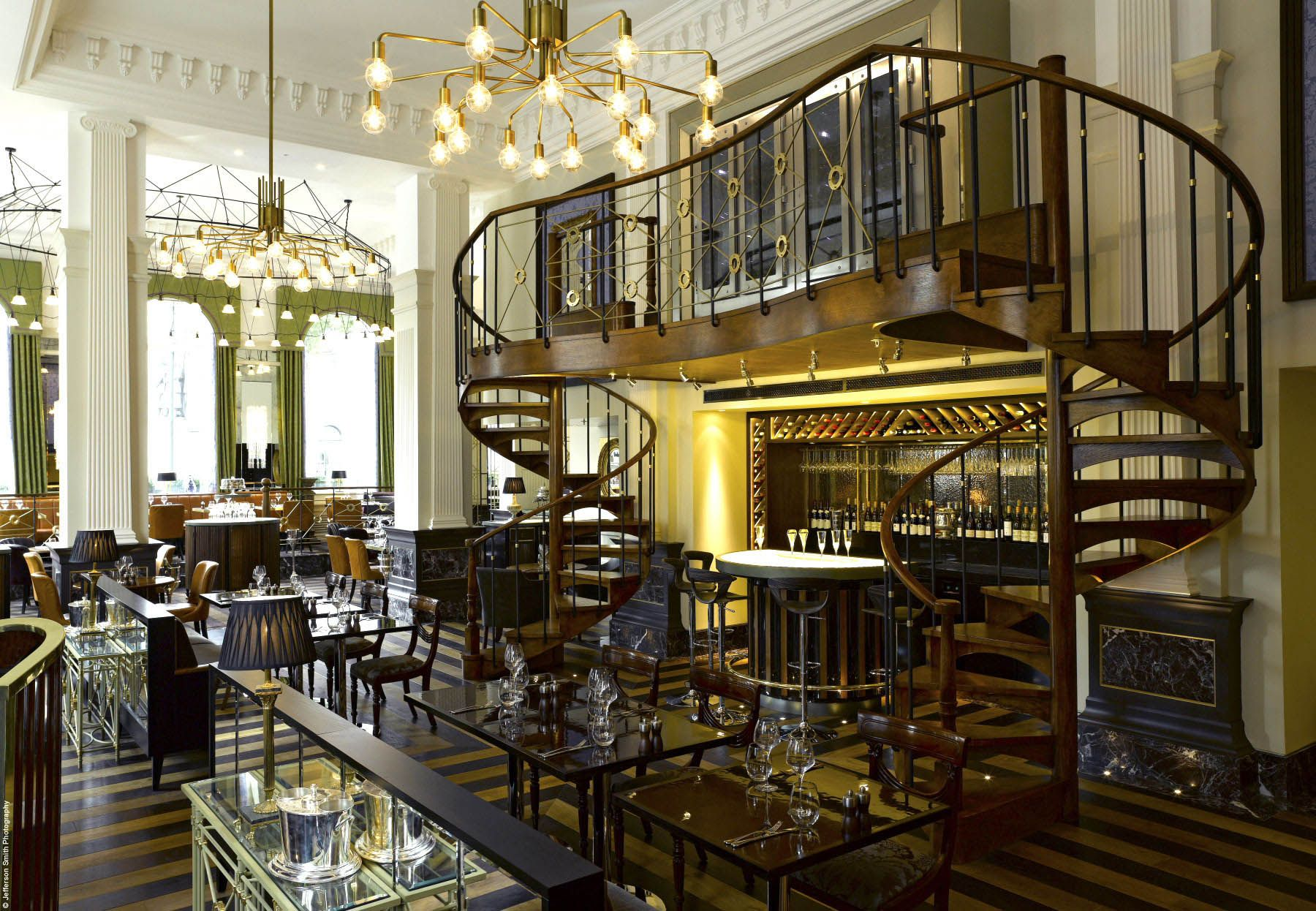the balcon - 8 pall mall, sw1 emerald st recommends for: art deco