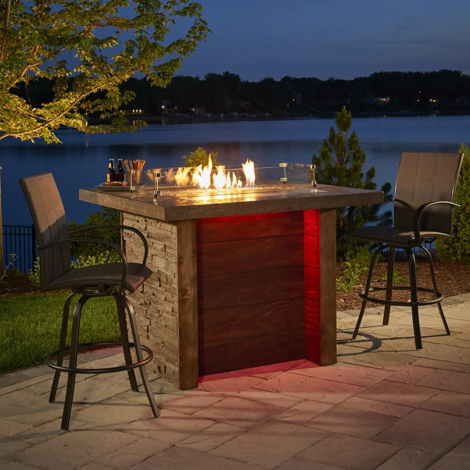 """The Outdoor GreatRoom Company Marquee 58"""" Rectangular Pub ..."""