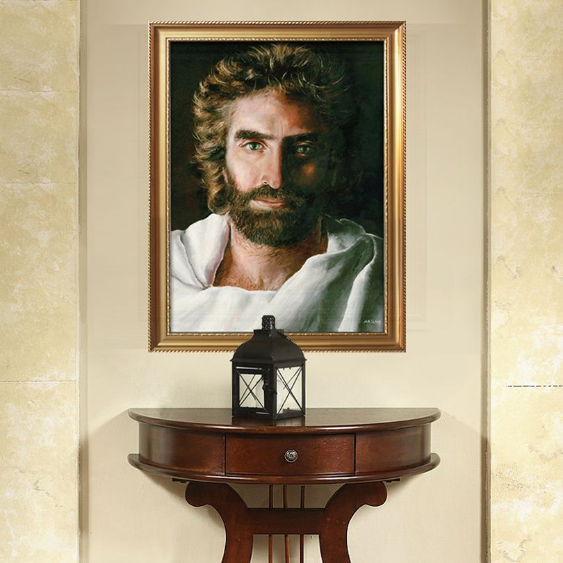 Find More Painting Calligraphy Information About Jesus Christ Impression Portrait Of Jesus On Canvas Post Wall Art Pictures Art Decor Jesus Christ Painting
