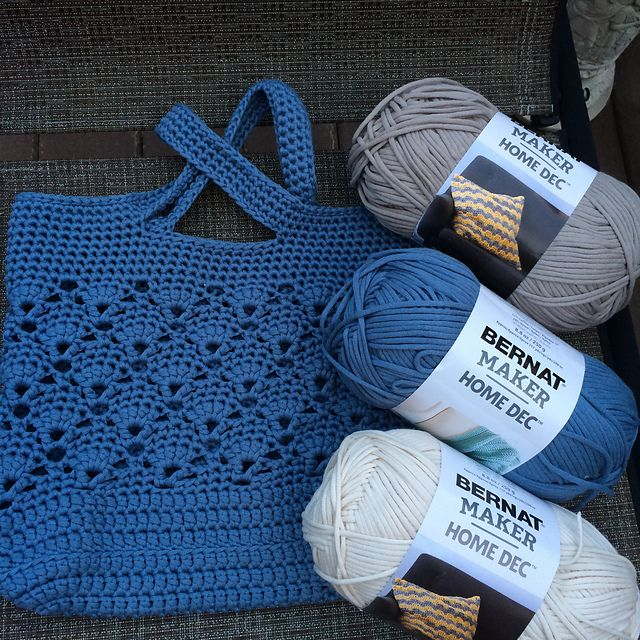 This pattern is available for FREE crochet bag tote | Knit/crochet ...