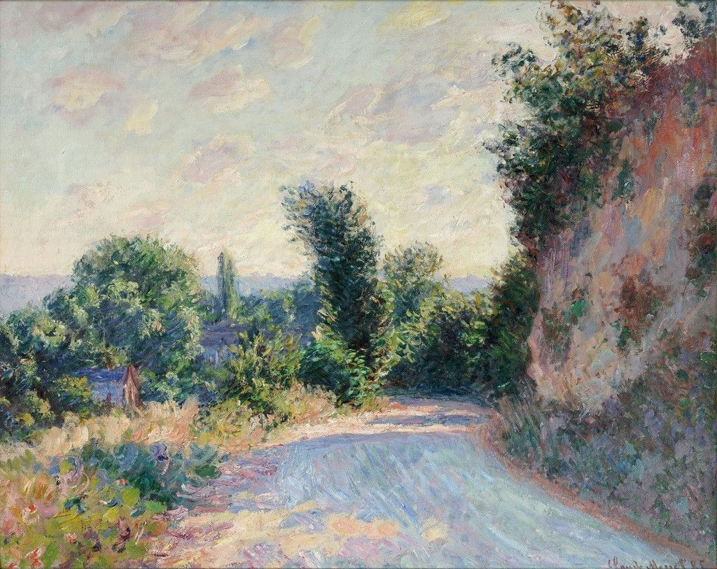 Chemin - Claude Monet Impressionism | Painting, Art, Claude monet