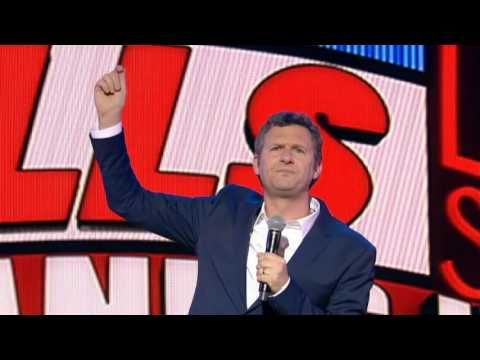 Adam Hills Stands Up Live - I love this show, it just makes me laugh all the time