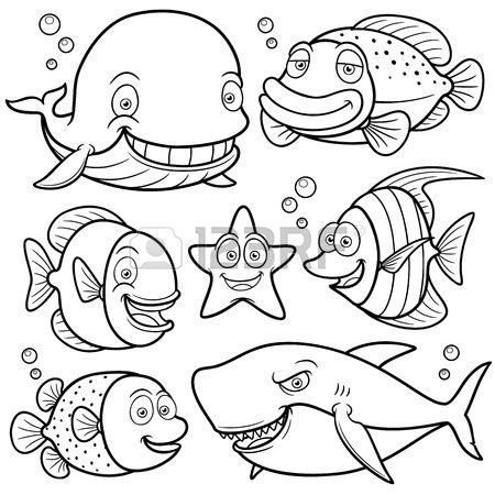 Coloring Book Fish
