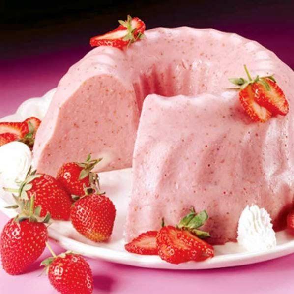 Truques de Meninas : Sobremesa fácil: gelatina cremosa ...