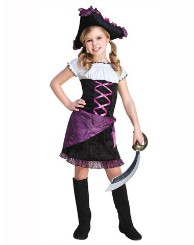 Pirate Princess Girls Costume Pirate/Princess Pinterest - halloween teen costume ideas