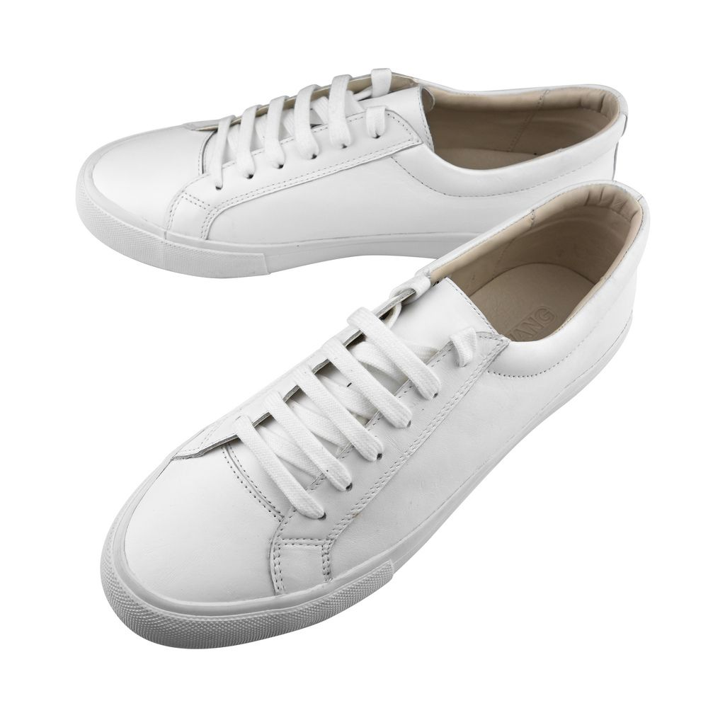 Sneaker handgrade pure white | White