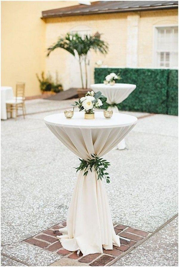 20 perfekte Hochzeit Cocktail Tischdekoration Ideen für Ihren großen Tag