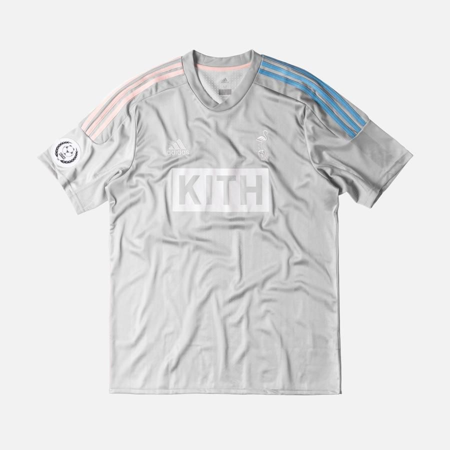 separation shoes f018c 1eb35 Kith x adidas Soccer Game Jersey - Flamingos Away | Clothes ...