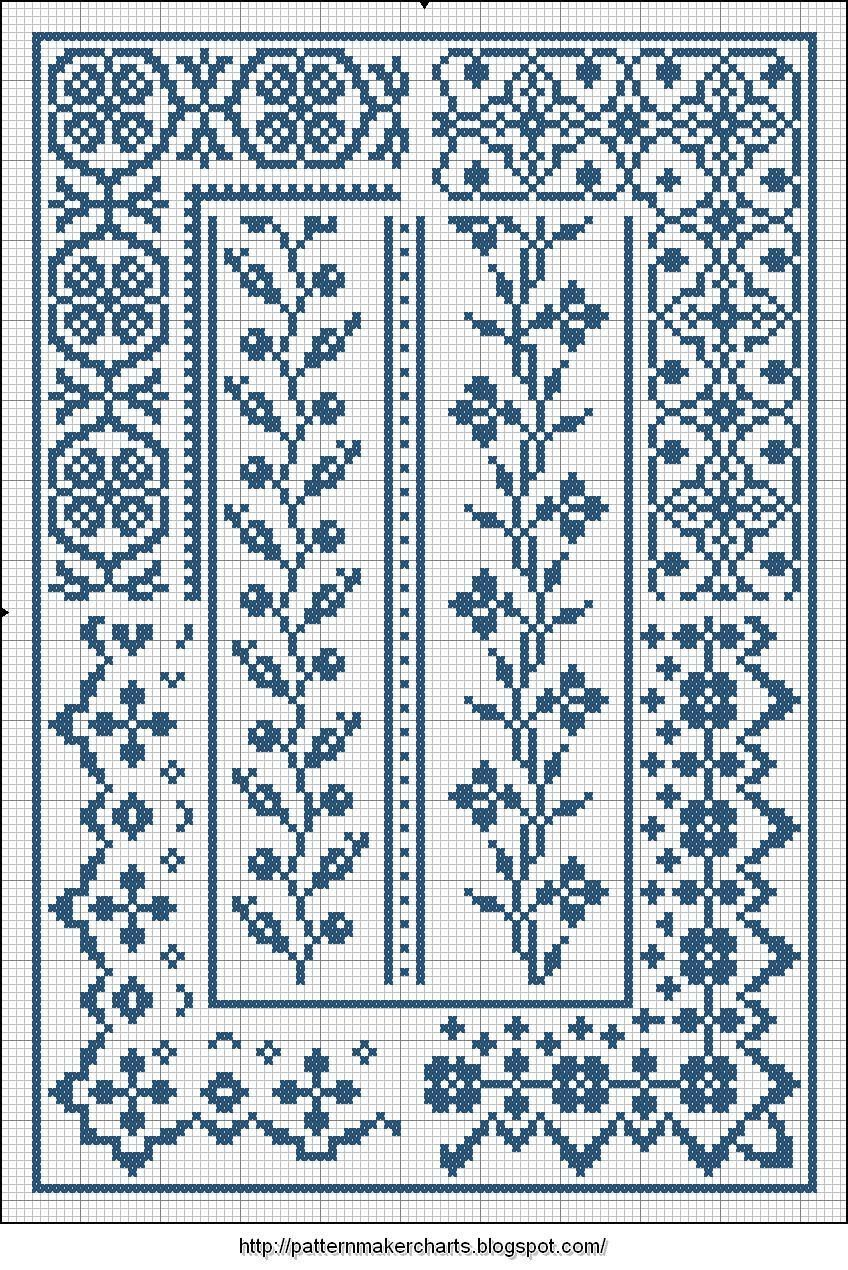 Free Easy Cross, Pattern Maker, PCStitch Charts + Free Historic Old