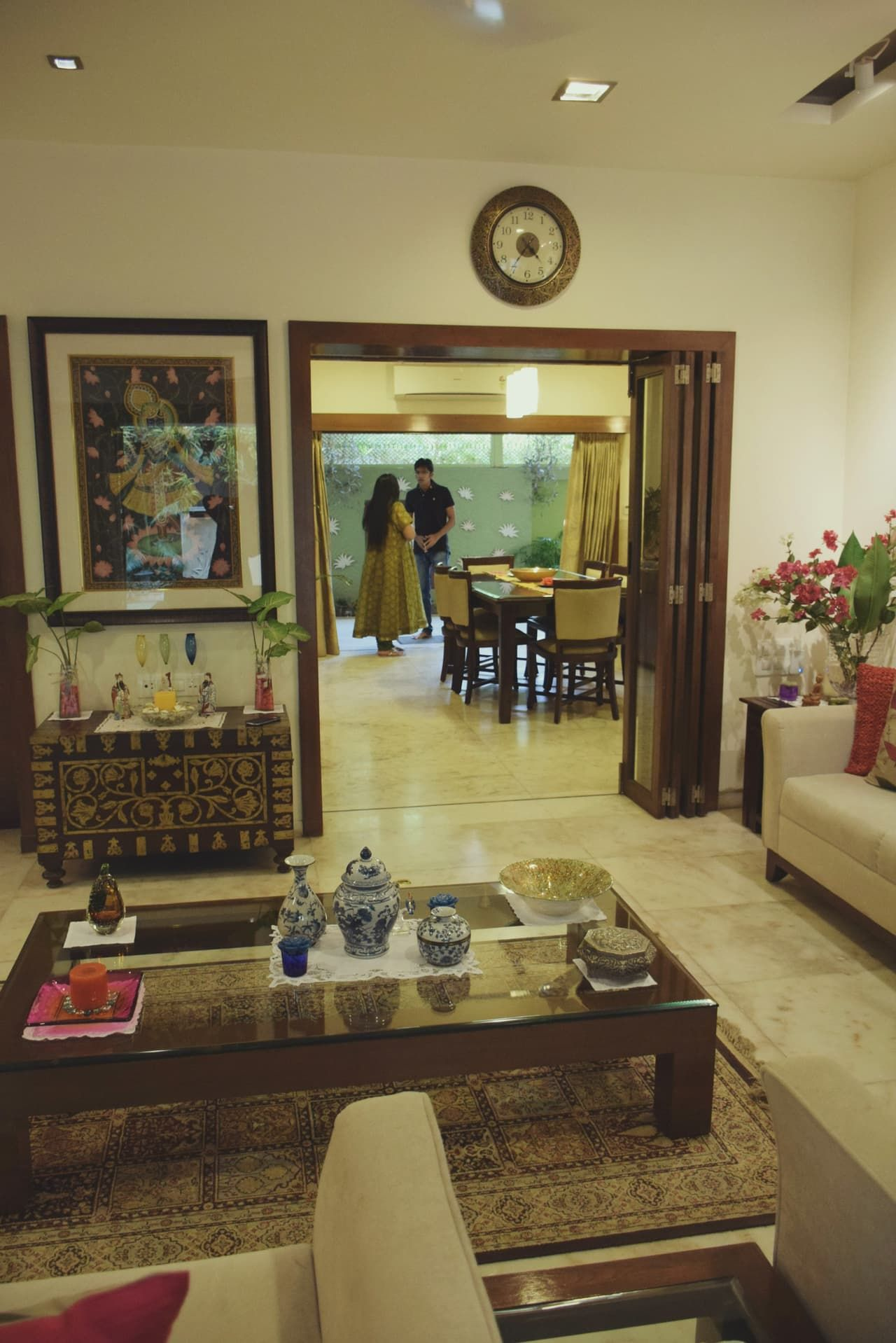 Alpavi Utpal S Mix Of Old And New Keralam Indian Home Decor